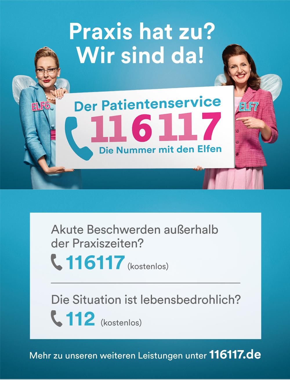 Der Patientenservice 116117